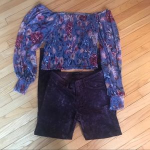 Gorgeous Anthro/J Brand outfit